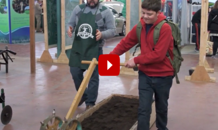 Students present at the 2020 Pennsylvania Farm Show