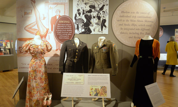 Dance into the new exhibit at the Fashion Archives and Museum