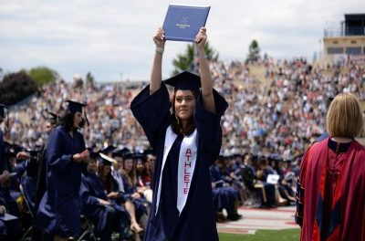 Student-athletes outpace national graduation rate