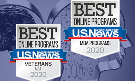 US News & World report ranks Ship MBA Online among the best
