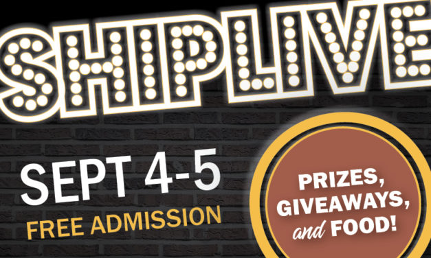 Ship Live – Labor Day weekend events announced