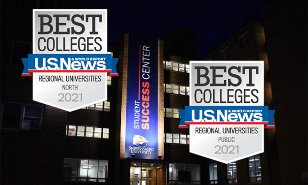 Shippensburg University climbs 12 spots on  U.S. News & World Report's Best Colleges Rankings