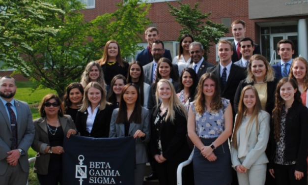Beta Gamma Sigma earns Highest Honors