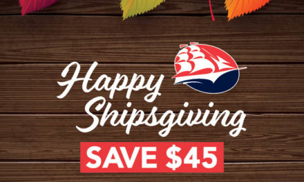 Spread your Shipsgiving cheer with application fee waiver