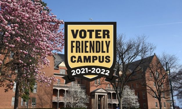 Ship named Voter Friendly Campus, one of 231 nationwide.